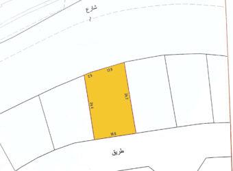 للبيع أرض سكني إستثماري في منطقة السهلة الشمالية