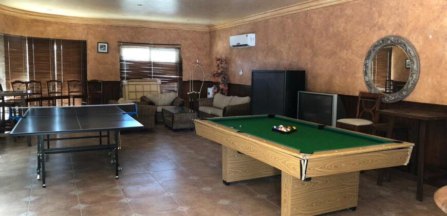 للإيجار فيلا سكنية مفروشة كامل بمنطقة النبي صالح