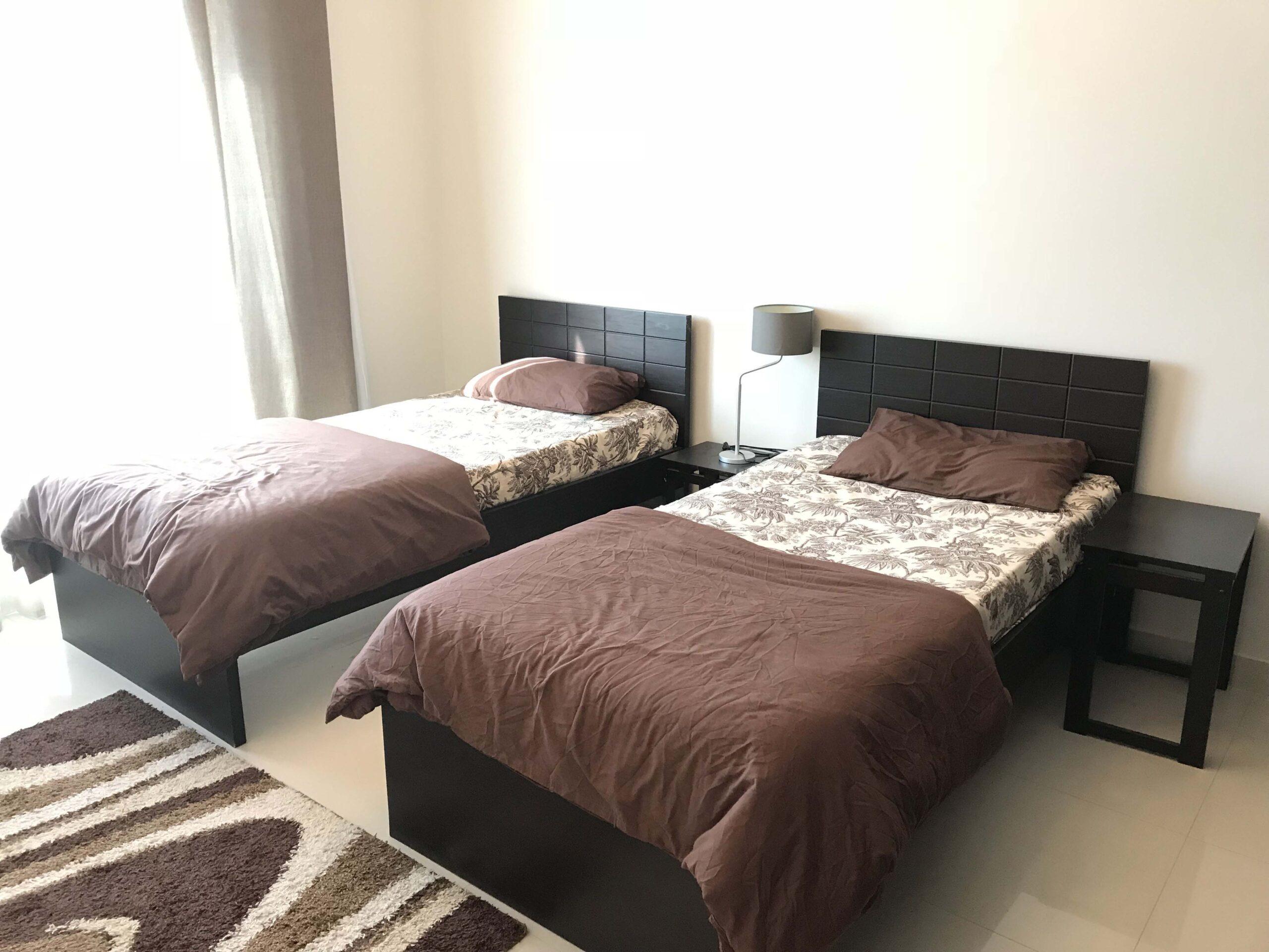 للإيجار شقة سكنية مفروشة كامل بمنطقة بو غزال