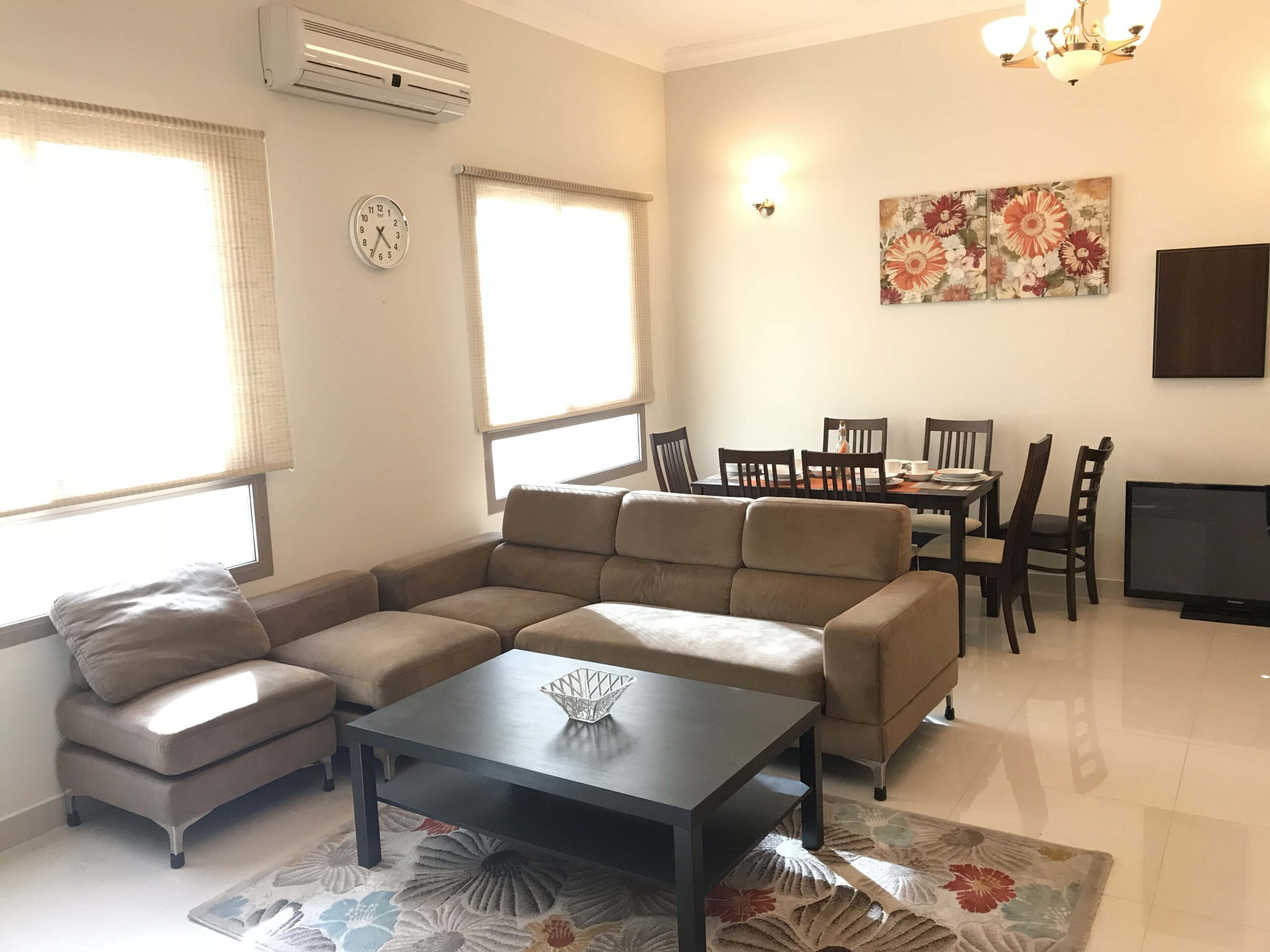 Apartment for rent fully furnished located in Bu Ghazal