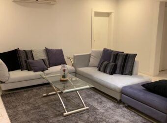 Apartment for rent consist of three bedrooms & fully furnished located Nuwaidrat