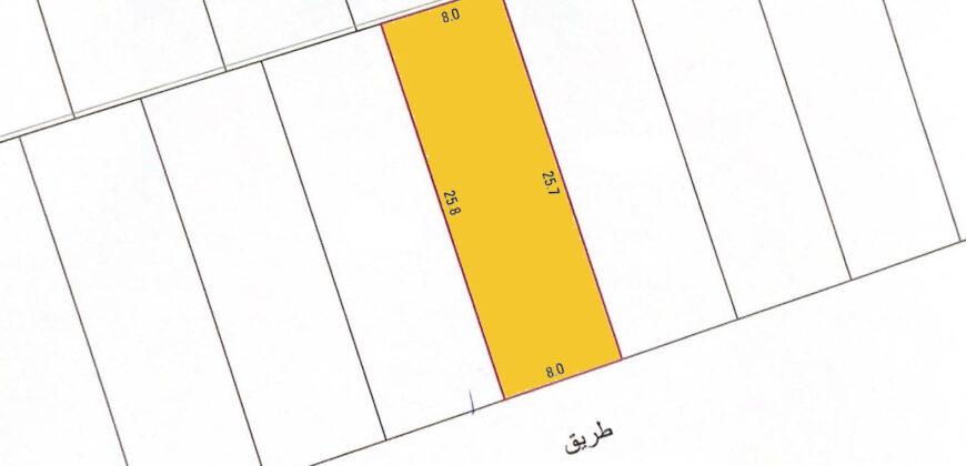 للبيع أرض سكنية بمنطقة المالكية