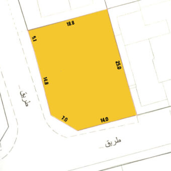Residential land for sale located in Zinj Property ID: DA3347