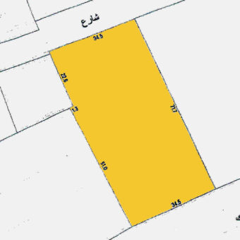 Commercial land for rent in Al Ghuraifa
