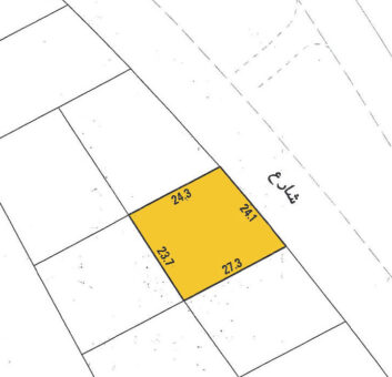 Investment land for sale (B-D) located in Riffa