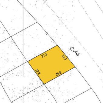 للبيع أرض إستثمارية B-D بمنطقة  الرفاع