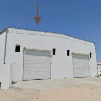 للإيجار مخزن / الورشة (صناعي خفيف) بمنطقة الهملة