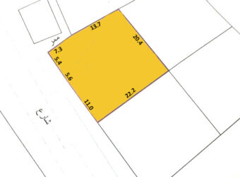 Residential land for sale located in Al Hajjar